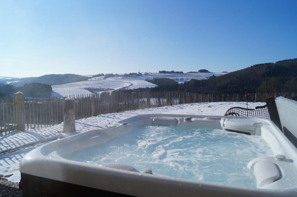 Eifel Wellness - geht auch im Winter und bei Schnee