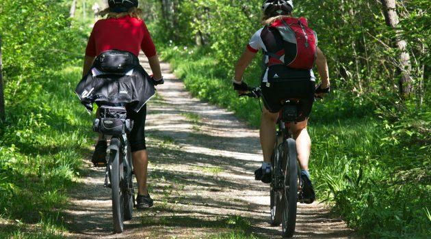 Mountainbike fahren in der Eifel