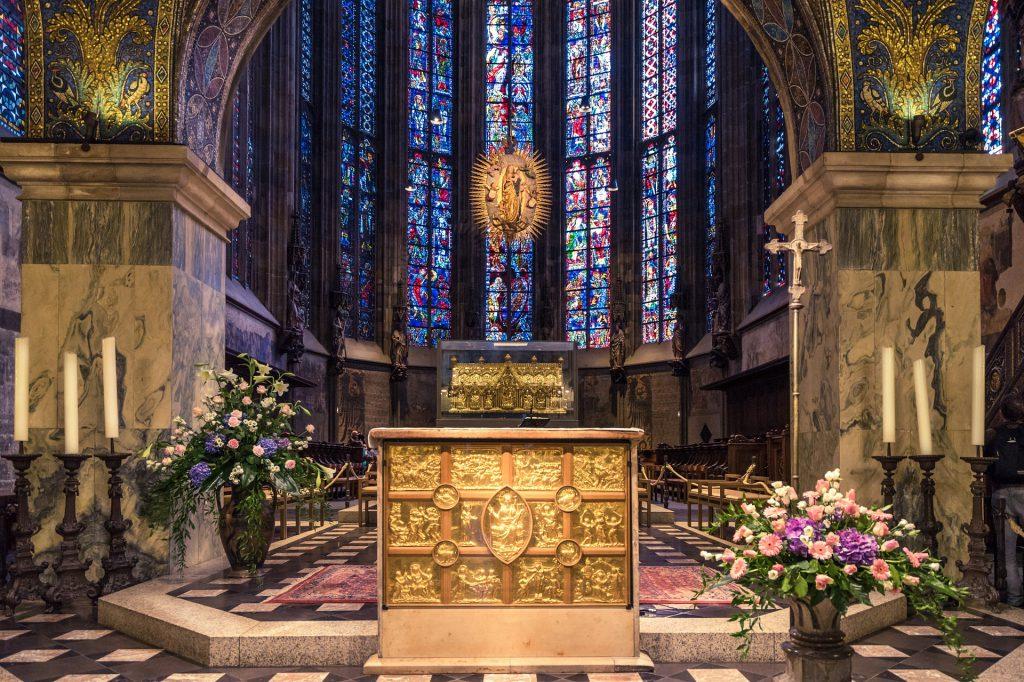 Aachener Dom von innen