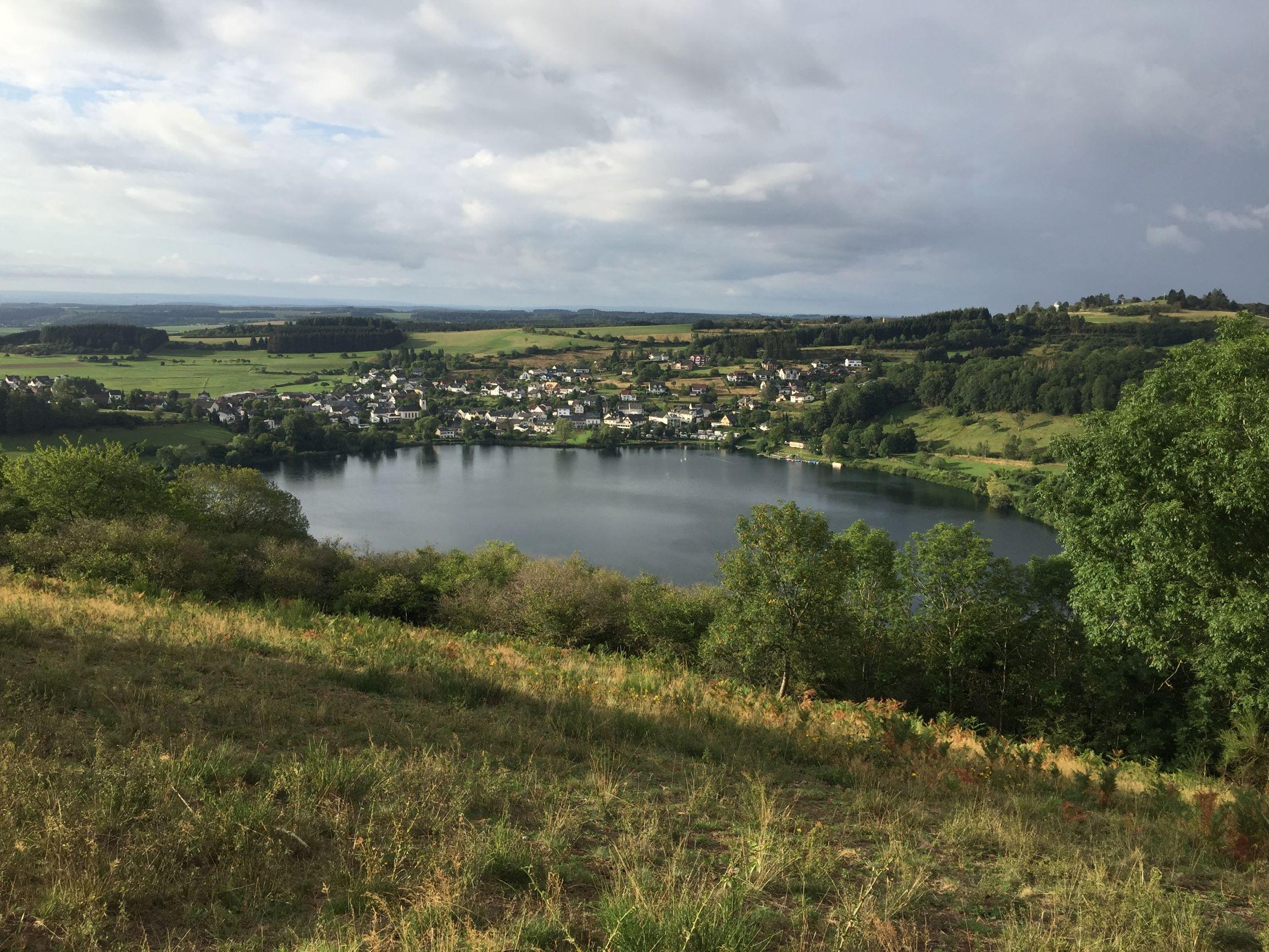 Schalkenmehren in der Eifel
